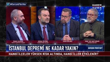Gerçek Fikri Ne - 9 Ocak 2021 (İstanbul Depremi ne kadar yakın? Prof. Dr. Naci Görür anlatıyor)