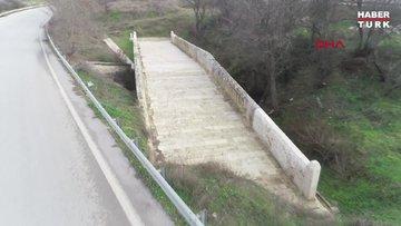 Osmanlı'nın Balkan seferlerinde kullandığı Kazan Köprüsü gün yüzüne çıkartıldı
