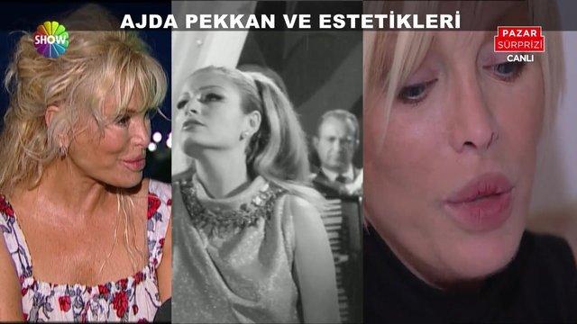 Ajda Pekkan ve estetikleri