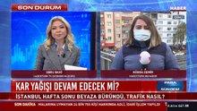 İstanbul'da kar trafiği! Yoğunluk yüzde 85'e ulaştı.