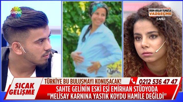 Melisay ve Emirhan hamilelik fotoğrafını neden çektirdiler?