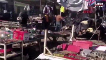 Irak'ın başkenti Bağdat'ta iki patlama meydana geldi
