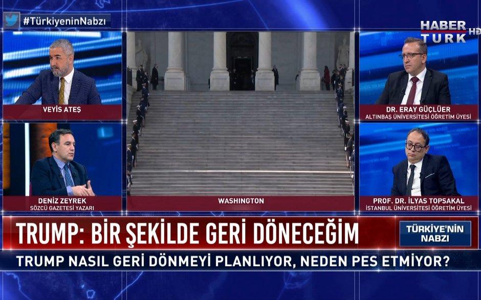 Türkiye'nin Nabzı - 20 Ocak 2021 (Trump nasıl geri dönmeyi planlıyor, neden pes etmiyor?)
