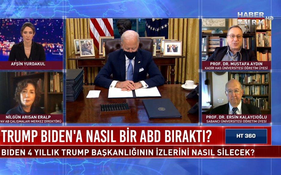 HT 360 - 21 Ocak 2021 (Trump, Biden'a nasıl bir ABD bıraktı?)