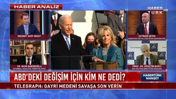 Habertürk Manşet - 21 Ocak 2021 (ABD'deki değişim için kim ne dedi?)