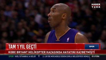 Kobe Bryant'sız bir yıl geçti