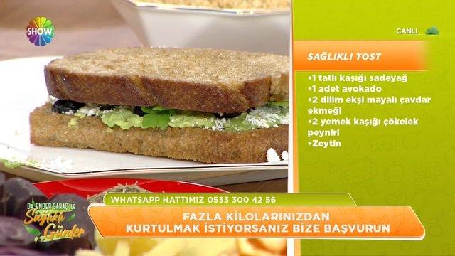Sağlıklı tost