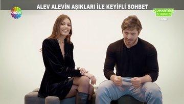 Alev Alev'in aşıkları ile keyifli sohbet!