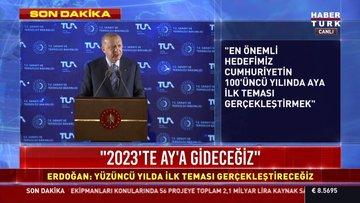 Türkiye'nin uzay programı açıklandı