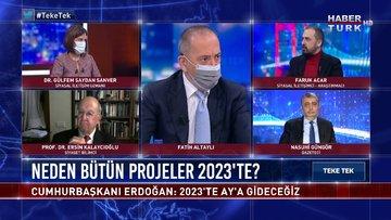 Cumhurbaşkanı Erdoğan: 2023'te aya sert iniş yapacağız | Teke Tek - 9 Şubat 2021