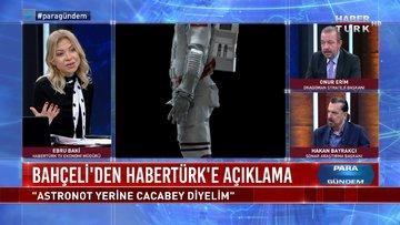 Türkiye'nin ilk Milli Uzay Programı, Astronot yerine ne diyeceğiz? | Para Gündem – 10 Şubat 2021