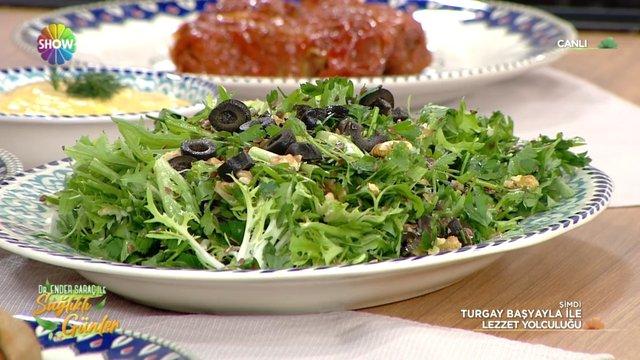 Kolesterol Düşürmeye Yardımcı Salata