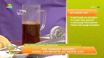 Yağ Yakmaya Yardımcı Doğal Antibiyotik Acı Kahve Çayı