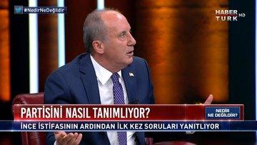 Muharrem İnce Habertürk TV'de soruları yanıtladı | Nedir Ne Değildir - 11 Şubat 2021