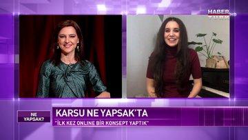 Ünlü müzisyen Karsu Dönmez Habertürk'te | Ne Yapsak - 13 Şubat 2021