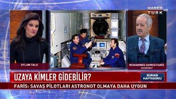 Uzayda kaç gün kaldı? Kozmonot Muhammed Ahmed Faris anlatıyor | Burası Haftasonu - 13 Şubat 2021