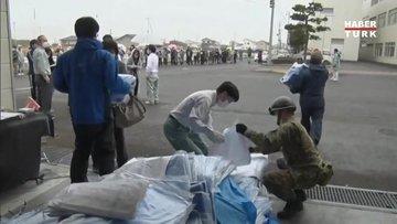 Japonya'da meydana gelen 7,3lük depremin bilançosu açıklandı: 160 kişi yaralandı!