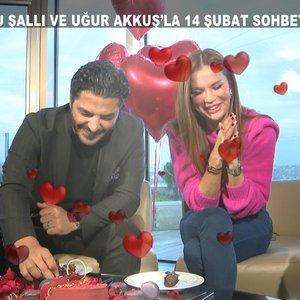 Ebru Şallı ve Uğur Akkuş'la çok özel sevgililer günü sohbeti!