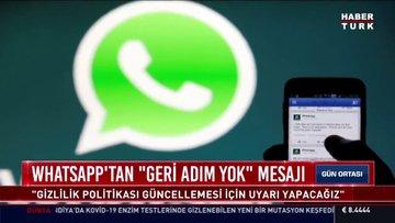 WhatsApp gizlilik sözleşmesinde son durum ne?