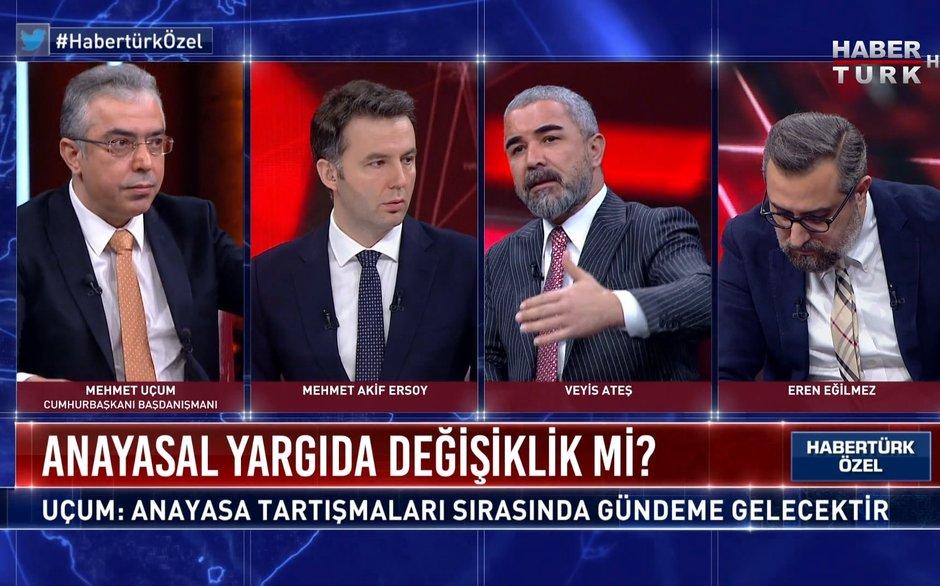 Habertürk Özel - 19 Şubat 2021 (Cumhurbaşkanı Başdanışmanı Mehmet Uçum Habertürk TV'de)