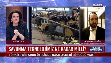 Türkiye'nin sınır ötesinde nasıl bir askeri gücü var? | Burası Haftasonu - 20 Şubat 2021