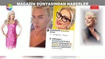 """Muazzez Ersoy ile Seda Sayan arasında """"estetik"""" polemiği"""