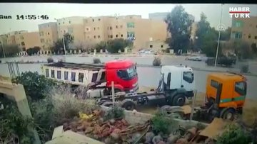 Libya İçişleri Bakanı Başağa'nın konvoyuna yönelik suikast girişiminin görüntüleri yayımlandı