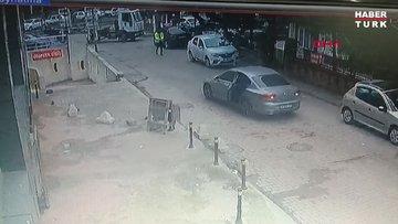 Esenyurt'ta otomobil hırsızlarını trafik polisi ateş açarak durdurmaya çalıştı