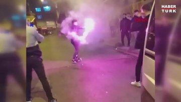 İstanbul'un 4 farklı ilçesinde koronavirüse rağmen asker eğlencesi