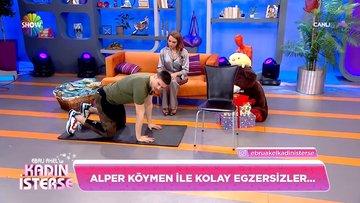 Alper Köymen ile kolay egzersizler!