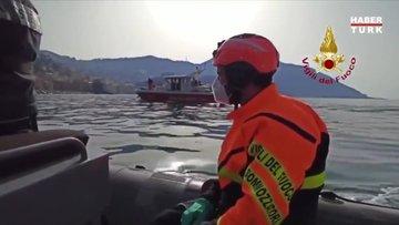 İtalya'da mezarlıkta heyelan sebebiyle 200 tabut denize düştü!