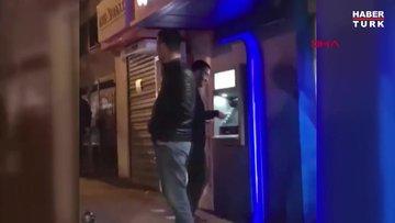 Çalıntı parayı halay çekerek ATM'ye yüklediler