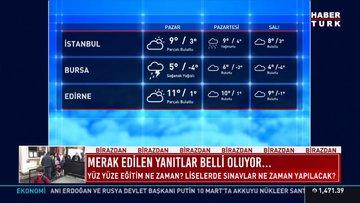 28 Şubat Hava Durumu SAĞANAK GELİYOR! Meteoroloji'den İstanbullulara uyarı!