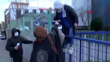 İkitelli'deki vergi dairesine gelenlere, site girişinde kapalı kapı sürprizi