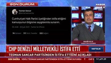 CHP Denizli Milletvekili istifa etti