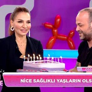 Ebru Akel'e sürpriz doğum günü