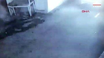 Çorlu'da polis aracına silahlı saldırı kamerada