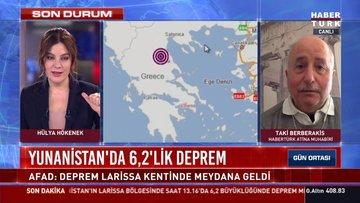 Yunanistan'da 5.9'luk deprem