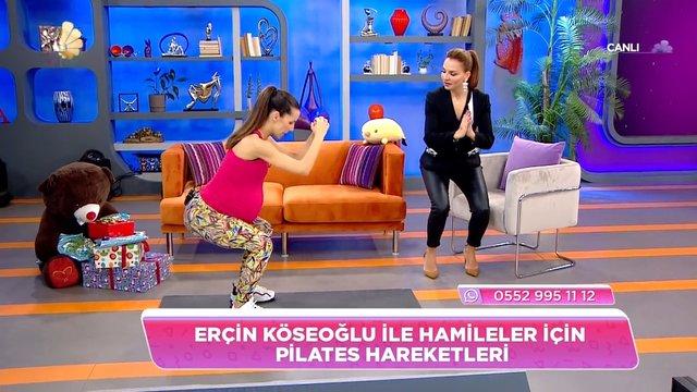 Hamileler için pilates hareketleri!