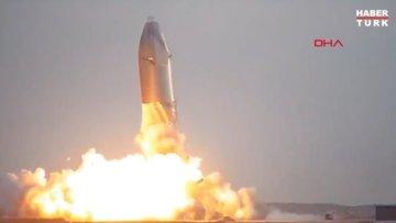 SpaceX'in uzay aracı, inişten sonra patladı