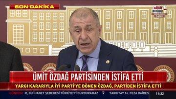 Son Dakika! Ümit Özdağ partisinden istifa etti!