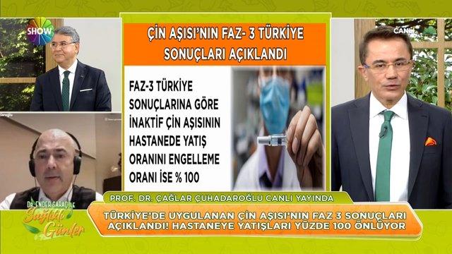 Çin aşısının Faz-3 Türkiye sonuçları açıklandı!