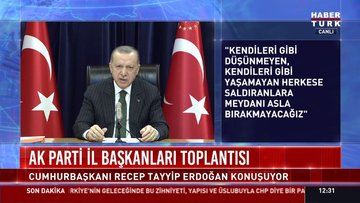 Cumhurbaşkanı Erdoğan'dan anayasa çağrısı