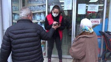 Edirne'de marketlere girişte HES kodu zorunluluğu getirildi