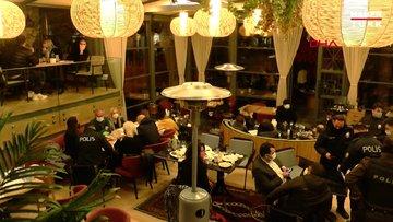 Nişşantaşı'nda restorana koronavirüs baskını: 100 kişiye idari para cezası uygulandı