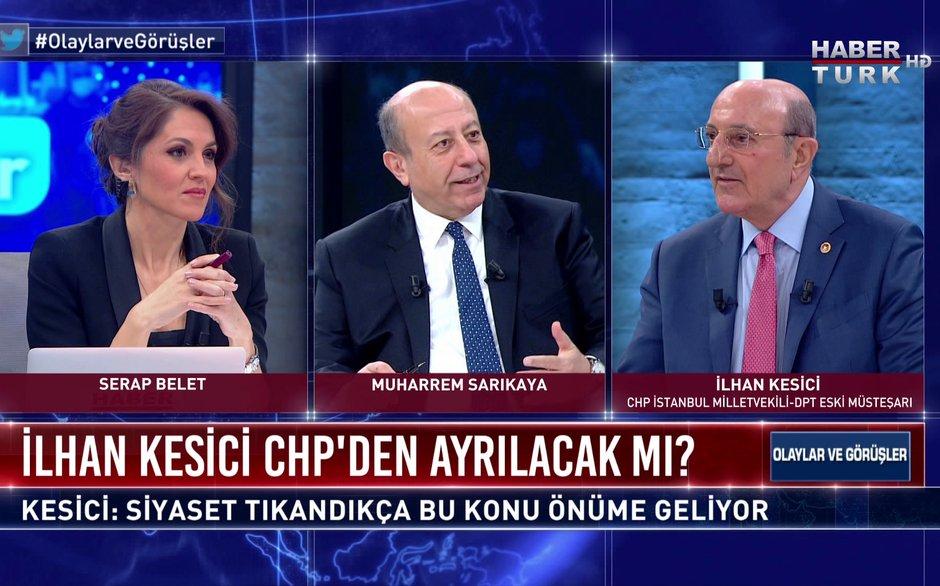 Olaylar ve Görüşler - 6 Mart 2021 (CHP İstanbul Milletvekili İlhan Kesici Habertürk'te)