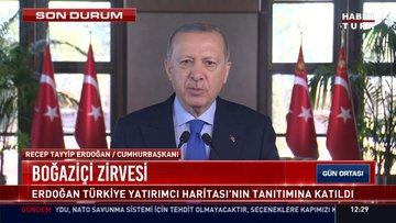 Cumhurbaşkanı Erdoğan, video mesaj yoluyla açıklamalarda bulundu