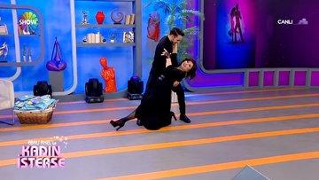 Nilgün Belgün ve Mehmet İris'ten tango performansı!