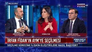 Açık ve Net - 8 Mart 2021 (Adalet Bakanı Abdulhamit Gül Habertürk TV'de)