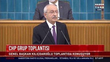 CHP lideri Kılıçdaroğlu açıklama yapıyor